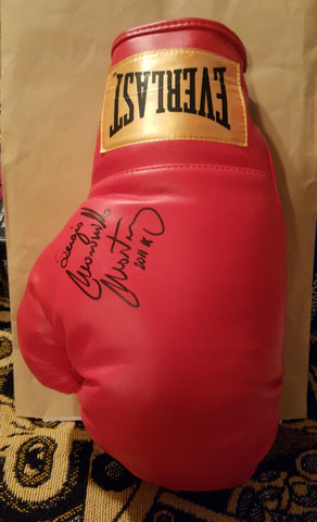 Sergio Martinez Autographed Boxing Glove