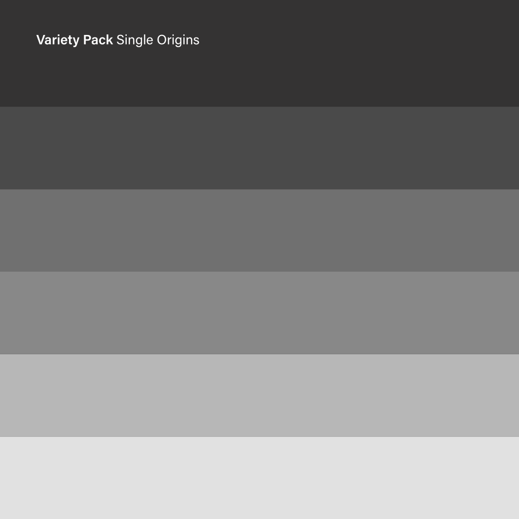 Variety Pack - Single Origin