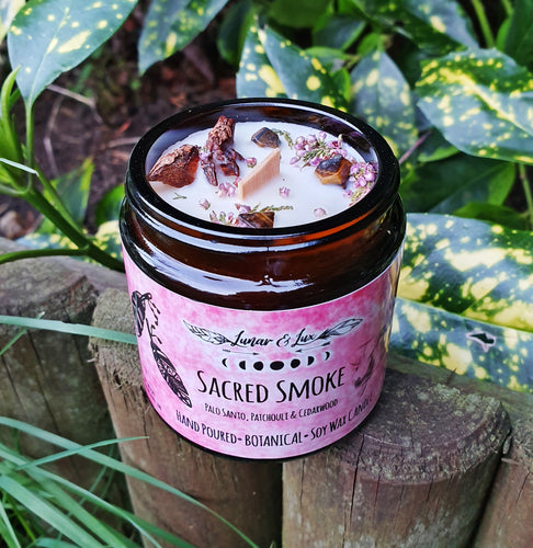 Sacred Smoke Botanical Candle