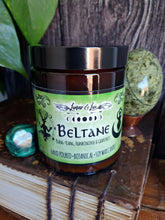 Load image into Gallery viewer, Beltane Sabbat Botanical Candle