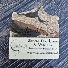Load image into Gallery viewer, Green Tea, Lime & Vanilla Soap