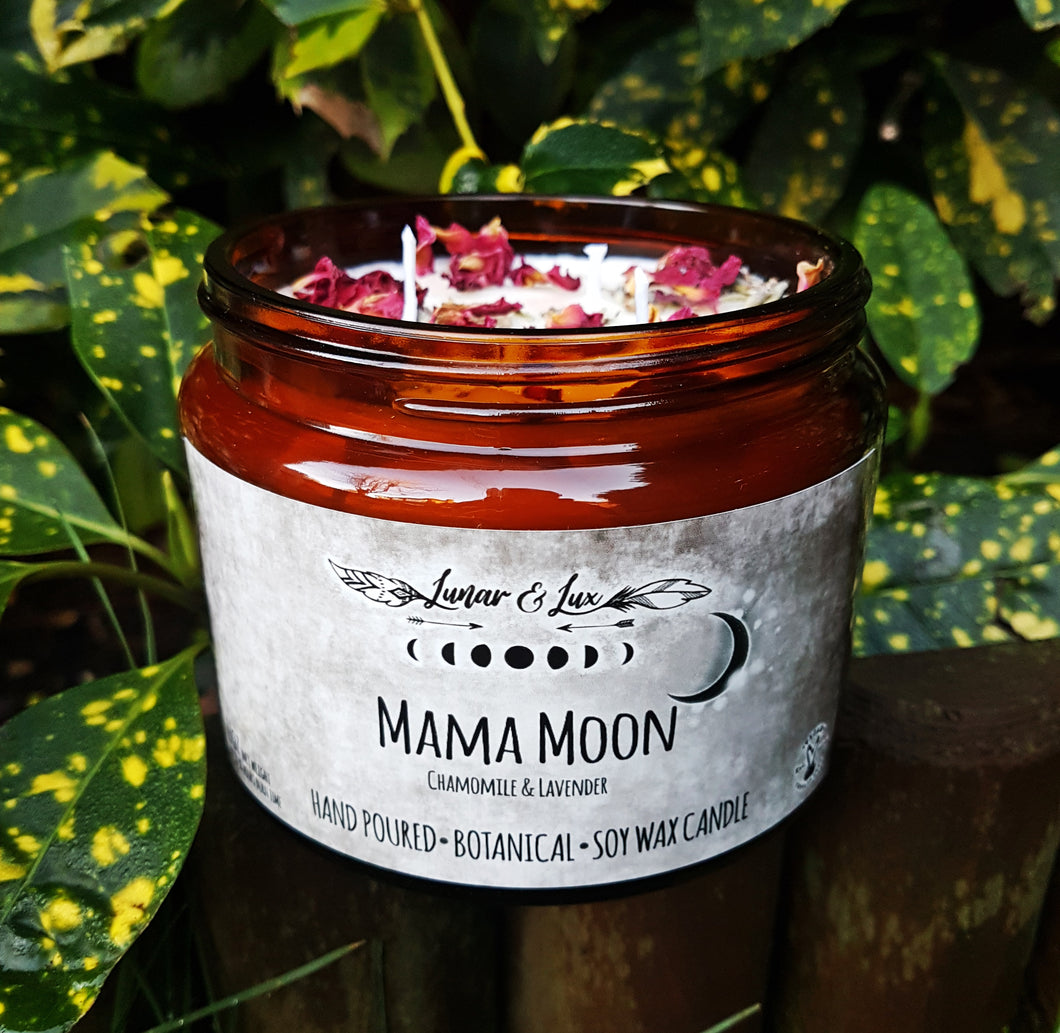 Mama Moon Botanical Candle