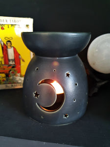 Crescent Moon Wax Burner