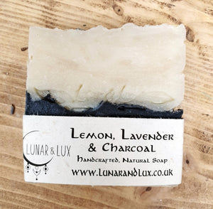 Lemon, Lavender & Charcoal Soap