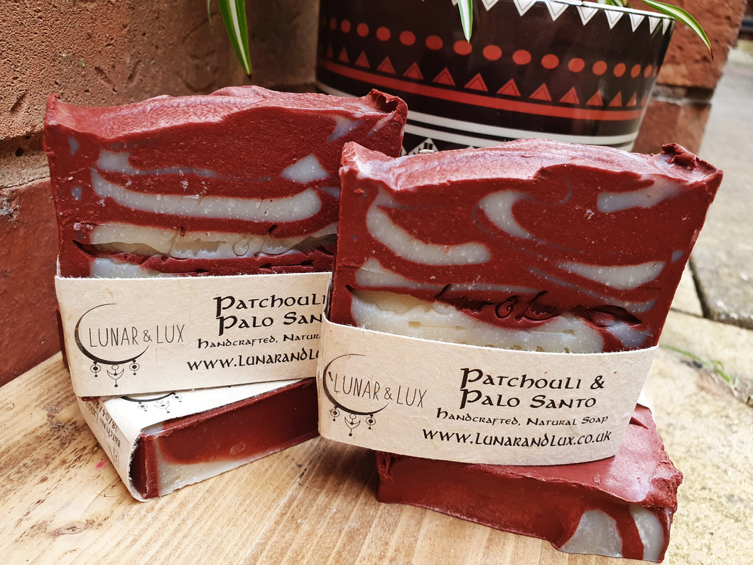 Patchouli & Palo Santo Soap