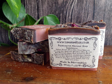 Load image into Gallery viewer, Rose & Raw Cacao Soap