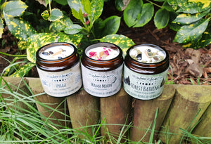 Botanical Candle Gift Set x 3