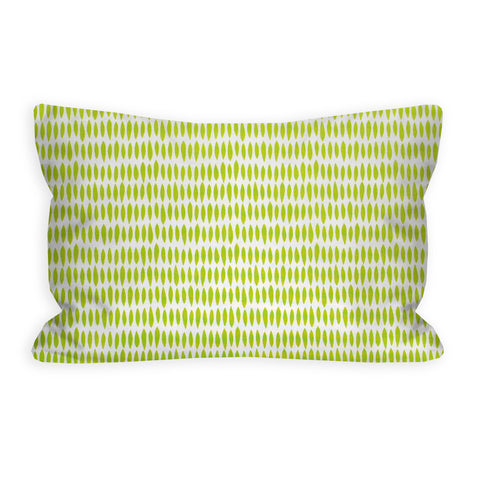 Abstract Limeade Toddler Pillow