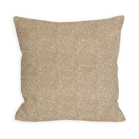 Barely There Beige Leopard Pillow