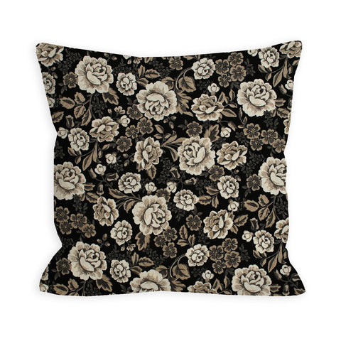 Old Floral Photographs Pillow