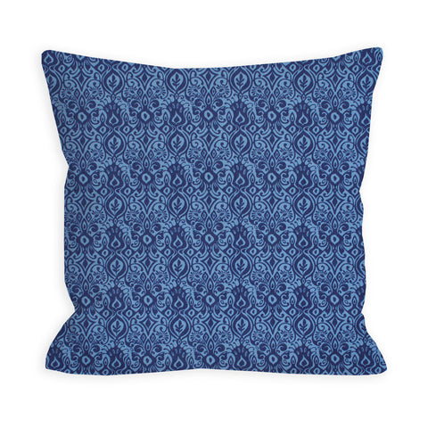 Madly Blue Eyes Pillow