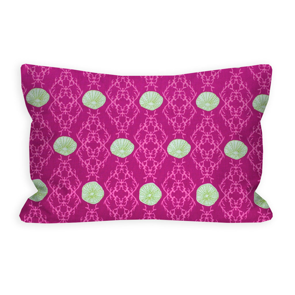 The Sea of Love Fuschia Toddler Pillow