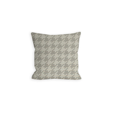 Grey Houndstooth Pillow - LIL