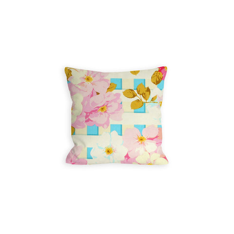 Floral Picket Fence Pillow - LIL