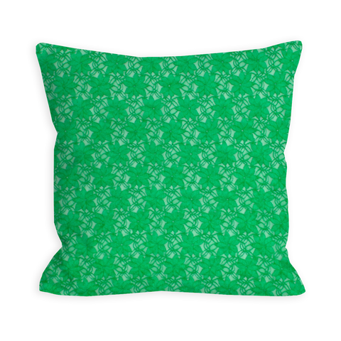 Posh Kelly Green Lace Pillow
