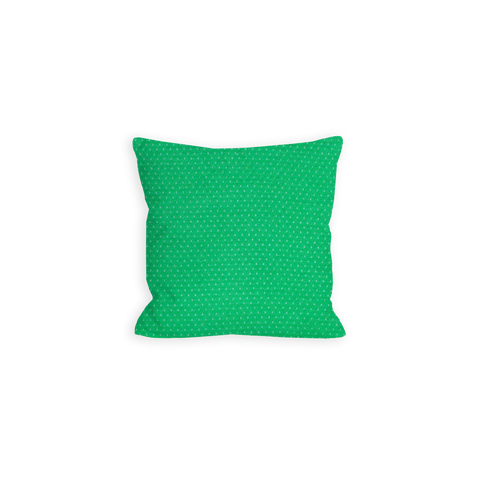 Coveting Kelly Green and White Pin Dot Pillow - LIL