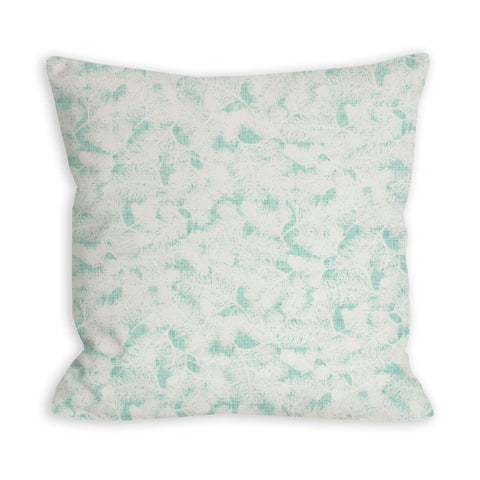 Light as a Feather Sea Green Pillow