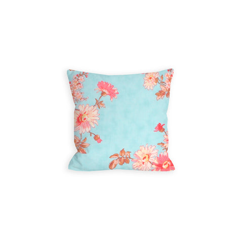 Wildflower Light Blue Pillow - LIL