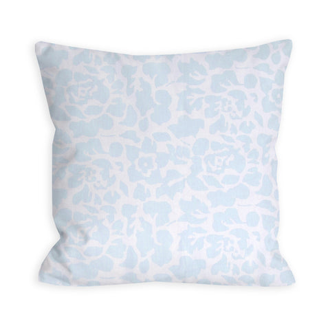 Baby Blue Animal Print Pillow