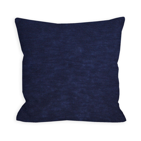 Devotion Navy Sweater Knit Pillow