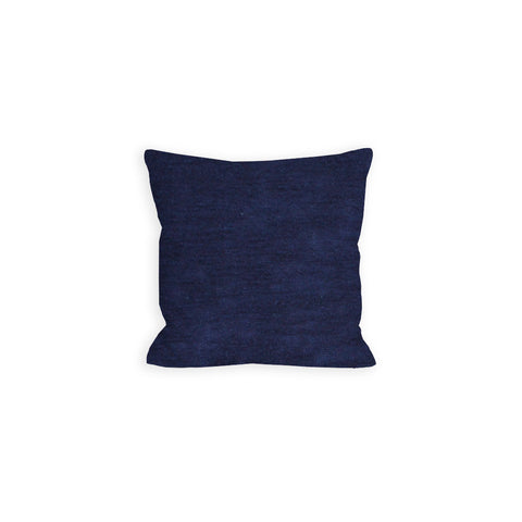 Devotion Navy Sweater Knit Pillow - LIL