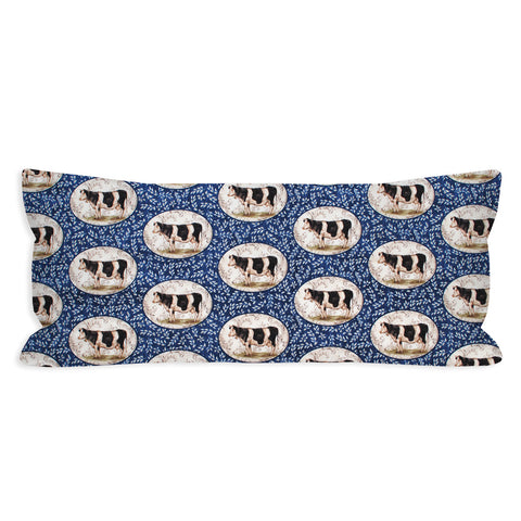 Utterly Country Cow Lumbar Pillow