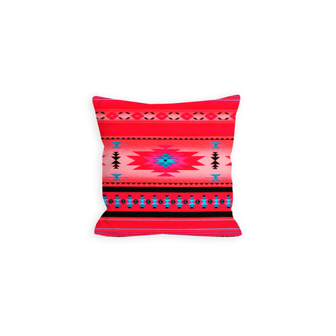 Indian Summer Tribal Hot Pink Pillow - LiL