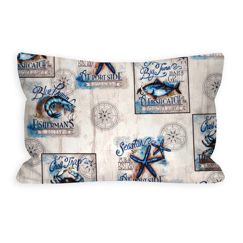 Hanging Port Side Nautical Toddler Pillow