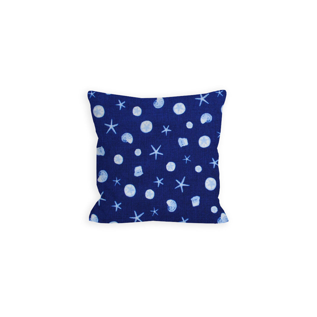 Toss Me a Sea Shell Nautical Pillow - LIL