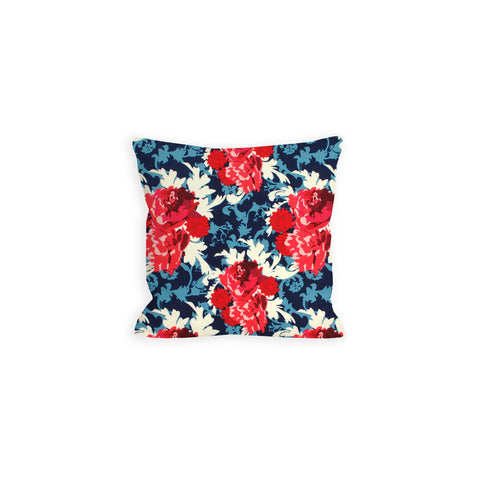 Red, White and Blue Flowerworks Pillow - LIL