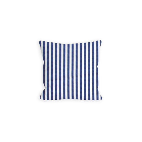 Rag-Time Navy and White Striped Pillow - LIL
