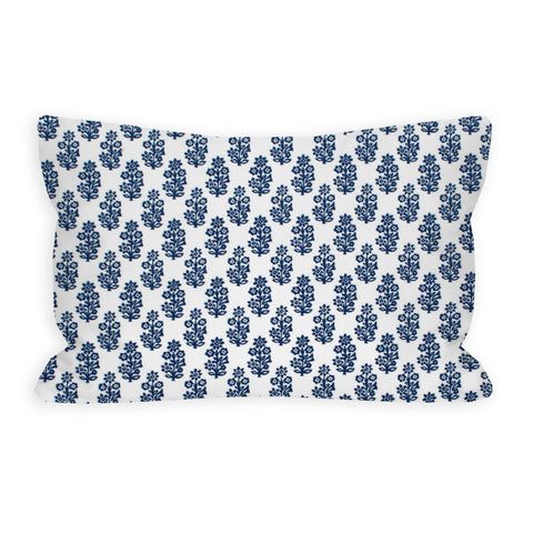 Legendary Navy Damask Toddler Pillow