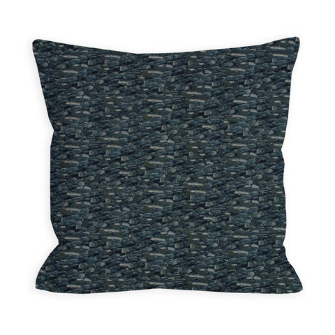 My Enigmatic Rolling Stone Slate Grey Pillow
