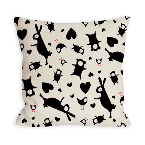 Teenie Weenie Monster's Ball Pillow