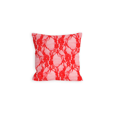 Grandeur Red Lace Pillow - LIL