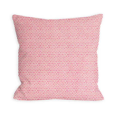 Light Red Violet Feathers Pillow