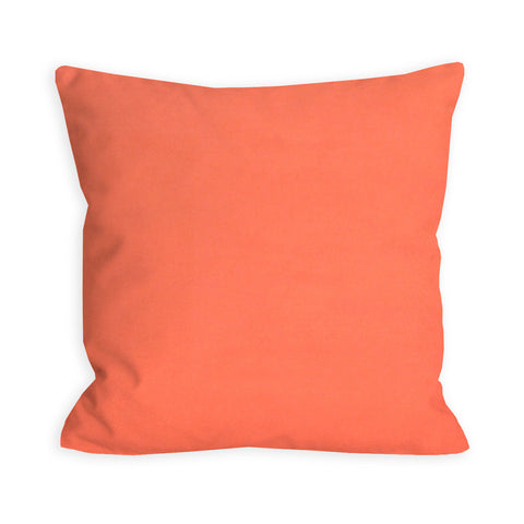 Coral Dreams Solid Pillow