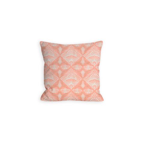 Coral Dreams Abstract Shells Pillow - LIL