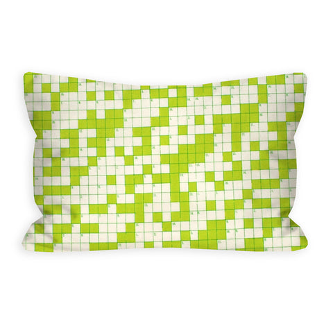 Thor Takes Manhattan Lime Crossword Puzzle Toddler Pillow