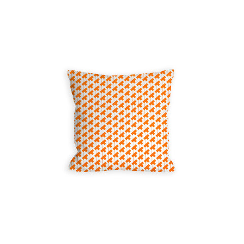 Orange Creamsicle Abstract Pillow - LIL