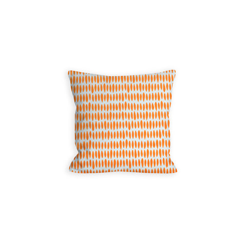 Orange Creamsicle Stripey Spears Pillow - LIL