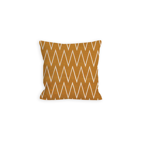 Savage Chevron Sienna Brown Pillow - LIL