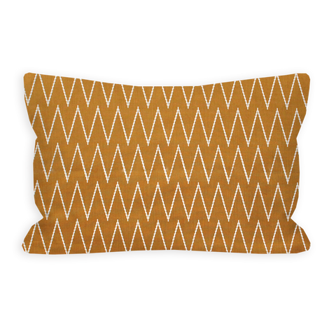 Savage Chevron Sienna Brown Toddler Pillow