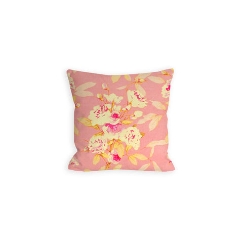 Pink And Shabby Roses Pillow - LIL