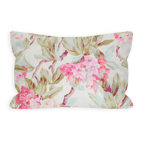 Shabby Hydrangeas Toddler Pillow