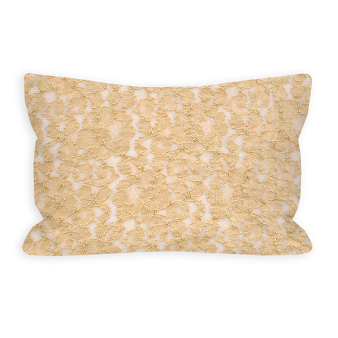 Desert Lace Shimmering Sand Toddler Pillow