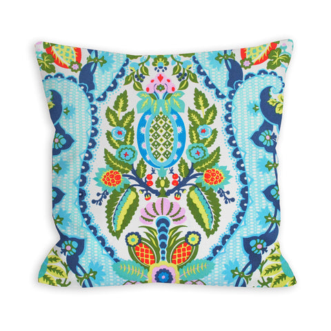 Bollywood Brights Floral Pillow
