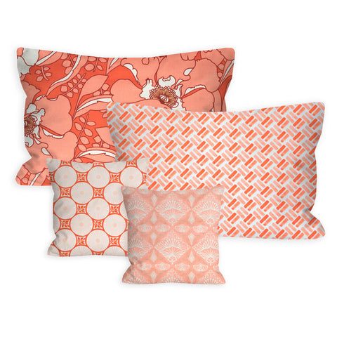 Coral Dreams Nursery + Toddler Pillow Set
