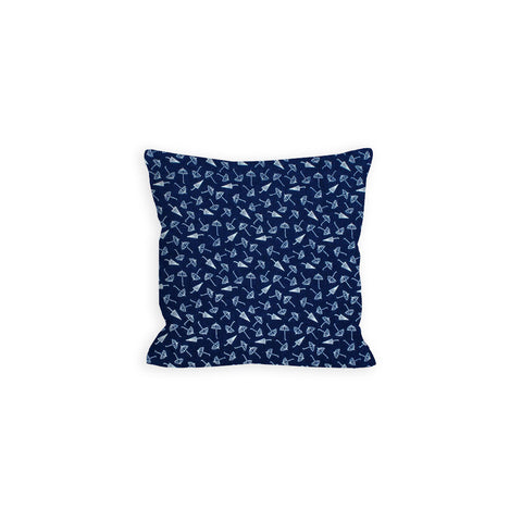 Hooray Navy Umbrella Pillow - LIL