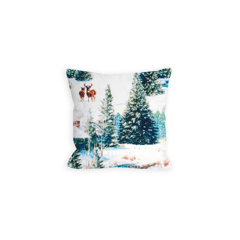 Winter Retreat Please Pillow - LiL